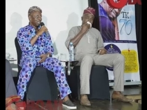 Video: Footballer Legend, Segun Odegbami Almost Cried As He Revealed His Childhood Experience With Tunde Kilani